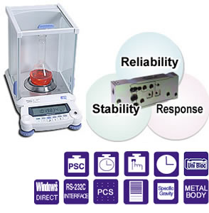 Shimadzu AUW-D Series Analytical balance